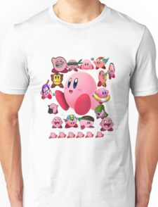 Collage O Kirby Unisex T-Shirt