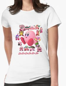 Collage O Kirby Womens Fitted T-Shirt