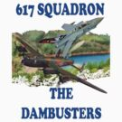 The Dambusters 617 Squadron Tee Shirt 2 by Colin  Williams Photography