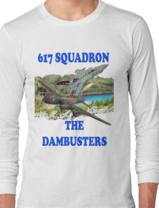 The Dambusters 617 Squadron Tee Shirt 2 Long Sleeve T-Shirt