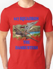 The Dambusters 617 Squadron Tee Shirt 2 Unisex T-Shirt