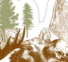 A moose once bit my sister Sticker