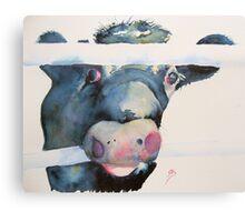 Moo Who? Canvas Print