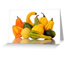 Gourds Greeting Card
