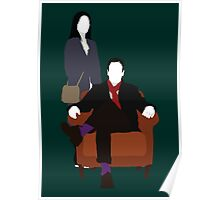 Holmes and Watson - Elementary Poster