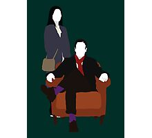 Holmes and Watson - Elementary Photographic Print