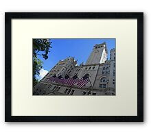 Old Post Office Or Trump Tower Framed Print