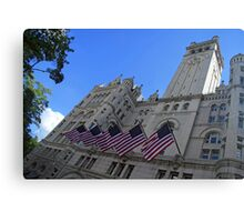 Old Post Office Or Trump Tower Canvas Print