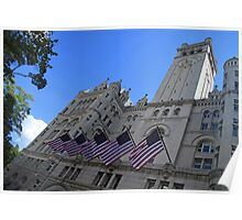 Old Post Office Or Trump Tower Poster