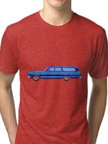 1965 Plymouth Fury I Tri-blend T-Shirt