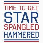 Time to get star spangled hammered by keepers