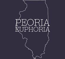 Peoria Euphoria Mens V-Neck T-Shirt