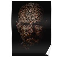 Walter White, Typographic Man of Chemistry Poster
