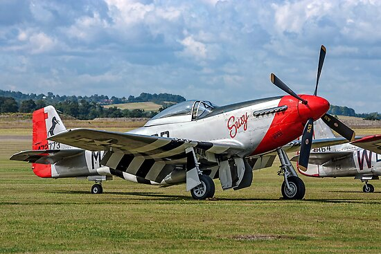 "P-51D Mustang 44-72773 G-CDHI ""Susy"" by Colin Smedley"