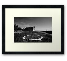 Shoebury Garrison Framed Print