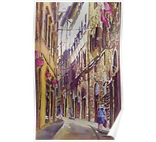 Late Afternoon in Florence Poster