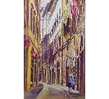 Late Afternoon in Florence Photographic Print