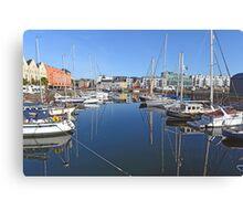 Galway Harbour, Ireland Canvas Print