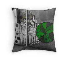 Street Family Throw Pillow