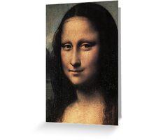 Da Vinci - Mona Lisa Greeting Card