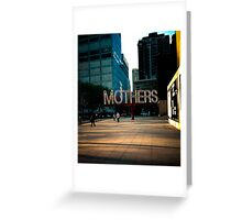 Mothers - Museum of Contemporary Art Greeting Card