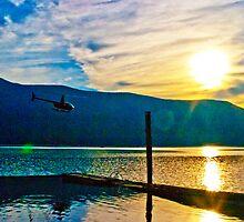 Lake FlyBy by Derek Lowe