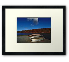 Flaming Torches of Autumn Framed Print