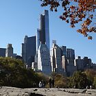 The One57 Skyscraper Dominates the Central Park South Skyline, Central Park, New York City by lenspiro
