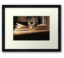Love Book  Framed Print