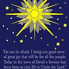 staryy sky & crosses (luke 2:10-11) by dedmanshootn