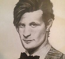 The Eleventh Doctor by okeedoe