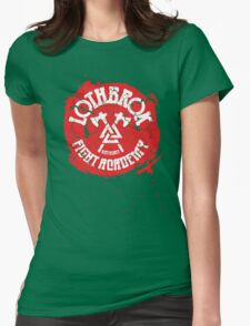 Lothbrok Fight Academy Womens Fitted T-Shirt