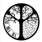 Tree Clock Brain by kobalos