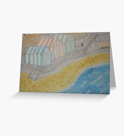 Painted Beach Greeting Card