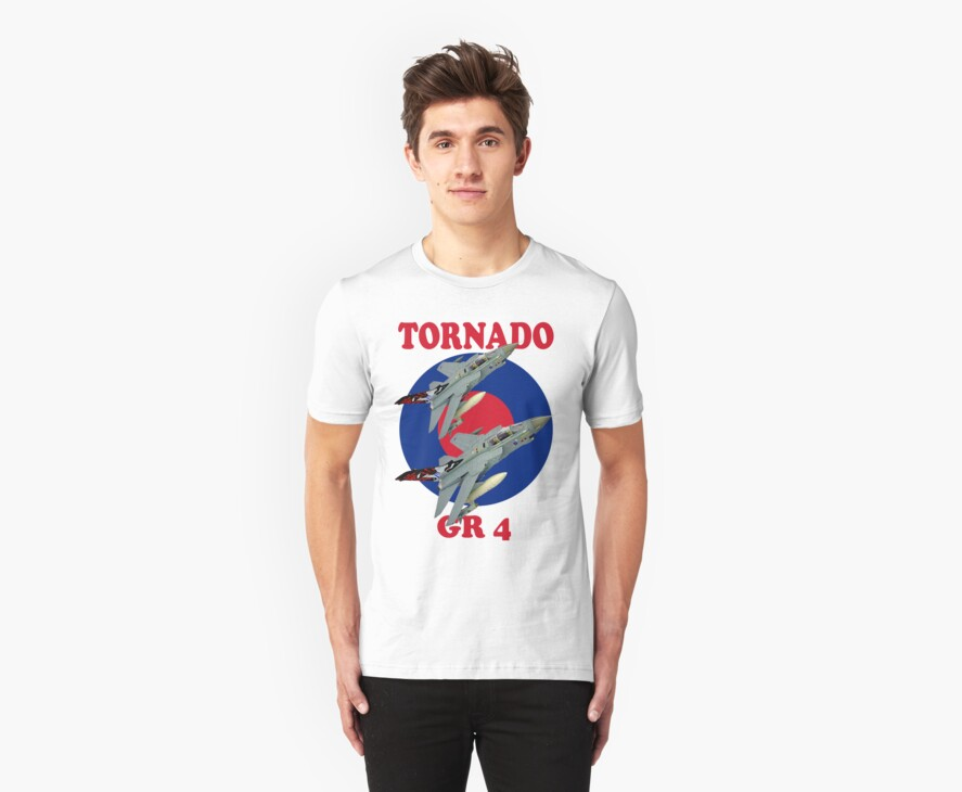 Tornado GR 4 Tee Shirt by Colin  Williams Photography