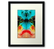 The Guardians - Visionary Art By Sharon Cummings Framed Print