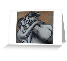 Lovers - The Heat Of Love Greeting Card