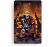 Zenith Comics Presents: Heroic Cover Canvas Print