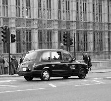 Cab in London by HeloiseDiez