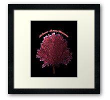 Sakura Cherry Blossom Tree Framed Print