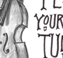 Alligator: Play Your Own Tune Sticker