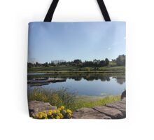 Peaceful Vineyard Tote Bag