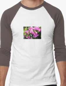 Purple Pink Bougainvillia In Blossom  T-Shirt