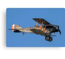 Bristol F.2b Fighter D8084/S ZK-BRI Canvas Print