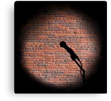 Microphone - Open mic Canvas Print