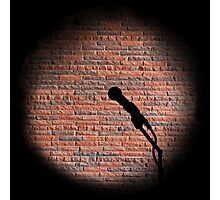 Microphone - Open mic Photographic Print
