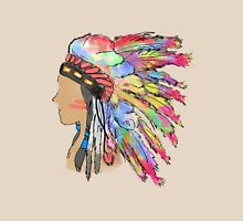 Native American Head Dress Colour Run Unisex T-Shirt