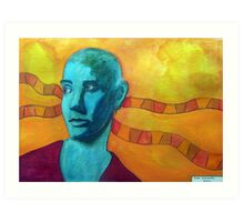 396 - SINEAD O'CONNOR - DAVE EDWARDS - WATERCOLOUR - 2013 Art Print