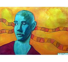 396 - SINEAD O'CONNOR - DAVE EDWARDS - WATERCOLOUR - 2013 Photographic Print