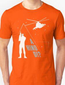 Metal Gear Solid - 'A Hind D!?' Mk.2 Unisex T-Shirt